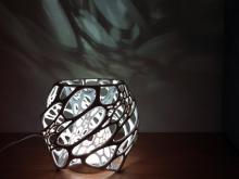Cellular Lamp Designed by Nervous System