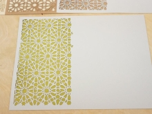 Islamic Art Notebook Cover