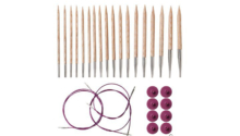 Knit Picks Wood Circular Knitting Needle Set