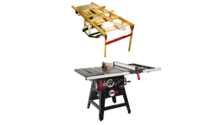 SawStop Contractor Table Saw + Incra LS Table Saw Positioner Super System