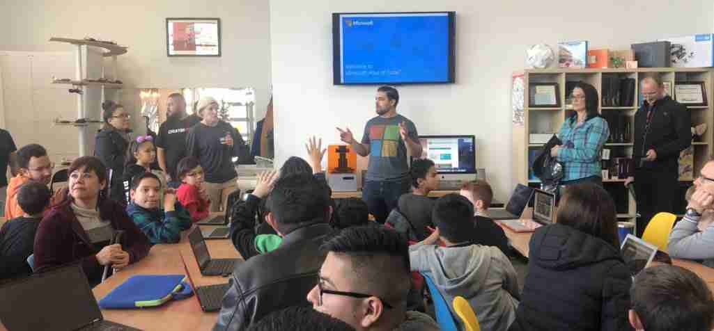 Hour of Code Sponsorship – Fab Lab El Paso